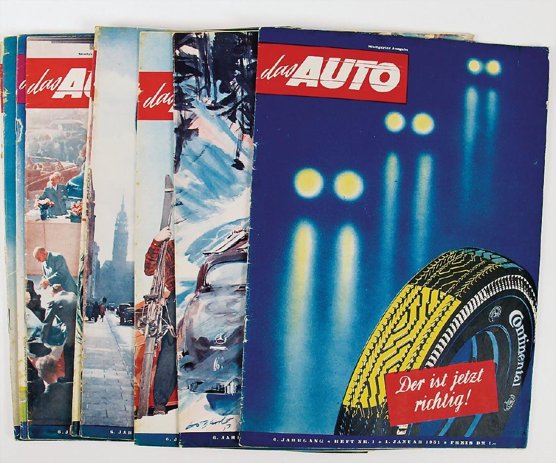 "magazine ""Das Auto"" (the car + engine and Sport) issue"