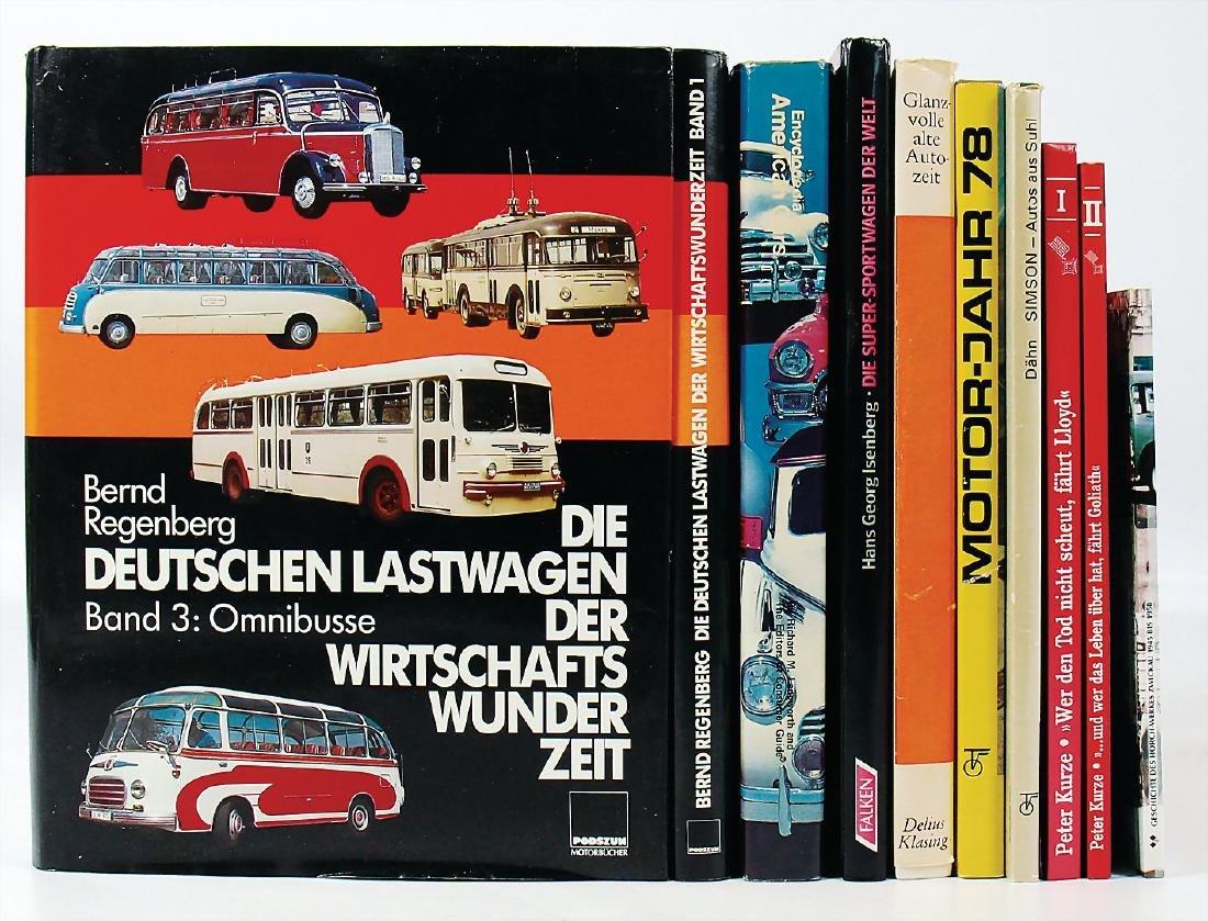 """mixed lot with 10 pieces, books, """"Die Deutschen"""