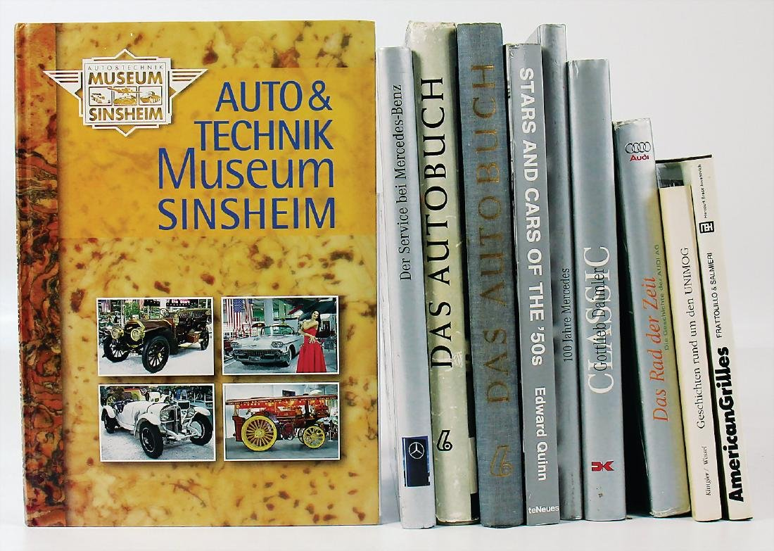 """mixed lot with 10 pieces, books, among it """"Das"""
