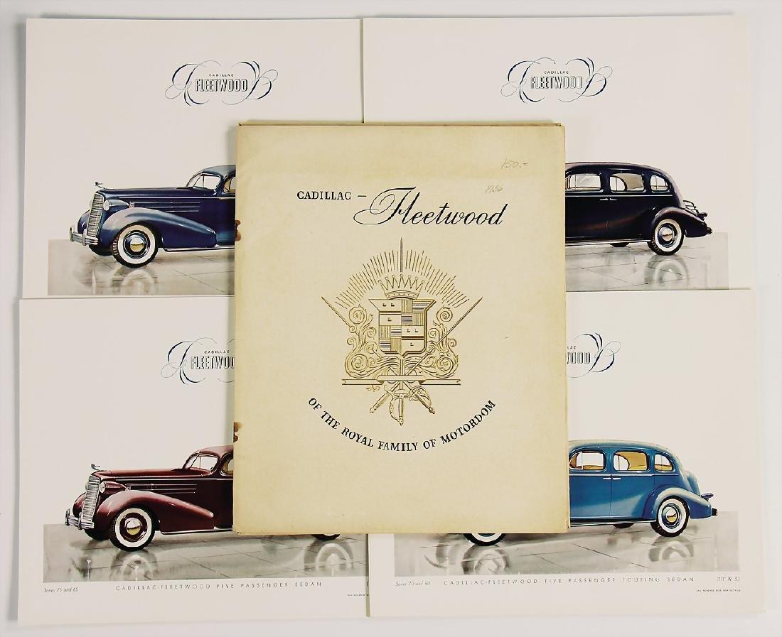 CADILLAC sales folder Cadillac Fleetwood, The Royal