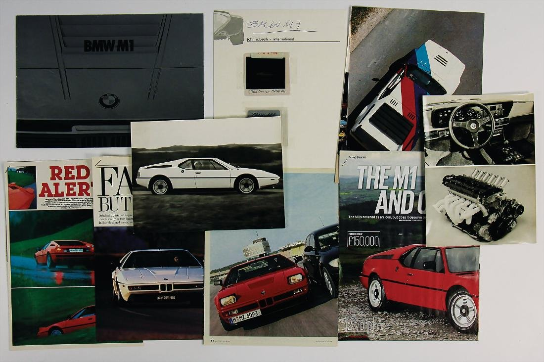 BMW/M 1 mixed lot with 10 pieces, No. 1: sales