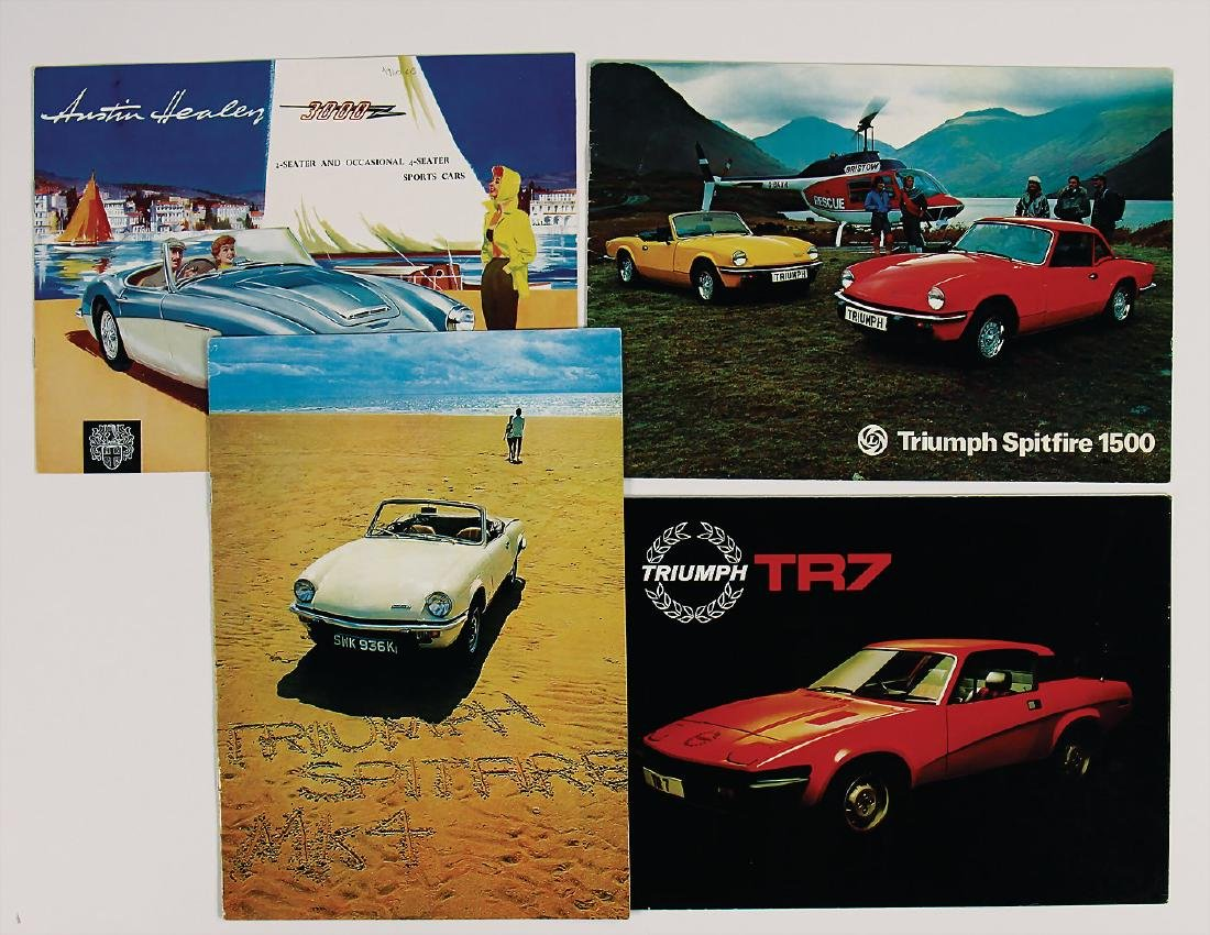 mixed lot with 4 pieces, No. 1: sales brochure Austin