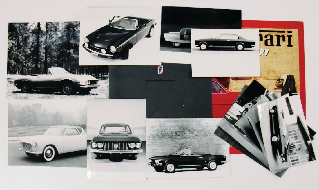 PININFARINA mixed lot /press kit Pininfarina, yearbook