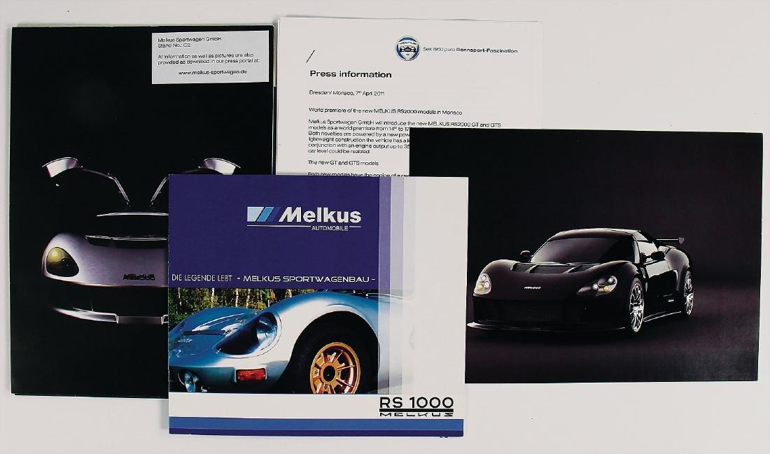 MELKUS press report Melkus RS 2000 GT/GTS, with 1 B/W
