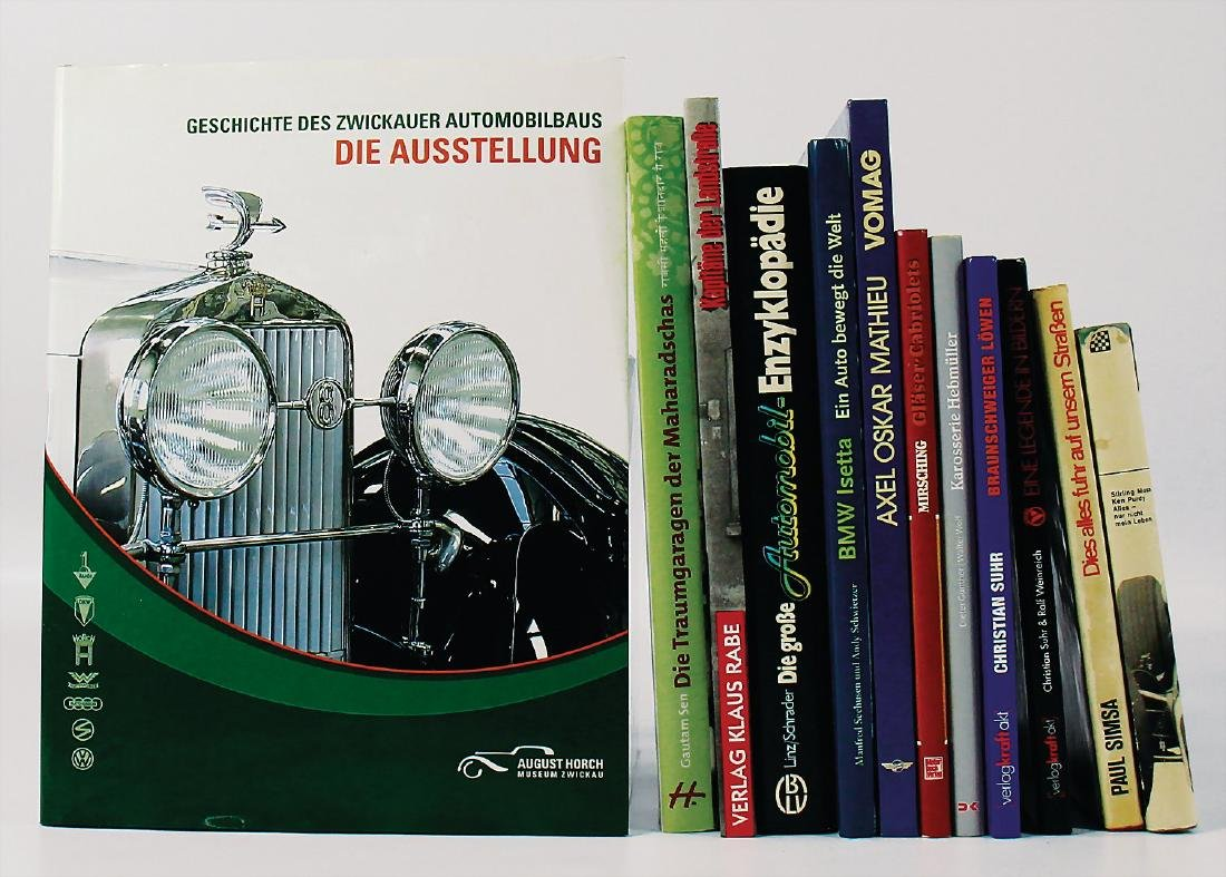 """mixed lot with 12 pieces, books, among it """"Die Große"""