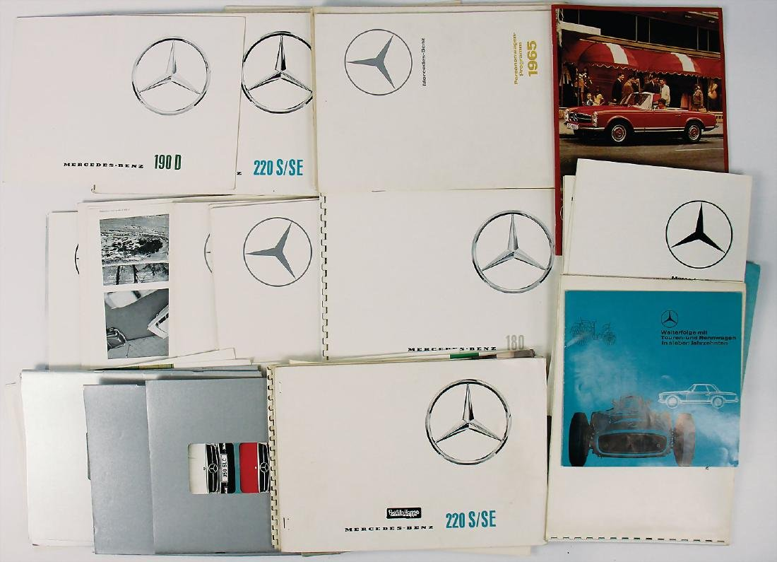 MERCEDES-BENZ mixed lot with more than 40 pieces, among