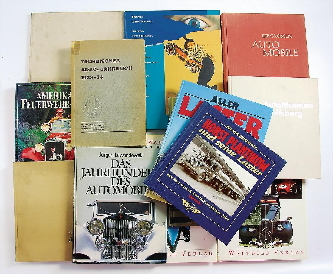 """mixed lot with 13 pieces, books, among it """"Die großen"""