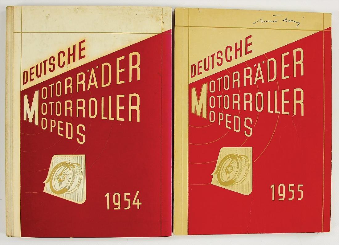 "2x edition ""Deutsche Motorräder/Motorroller/Mopeds"""