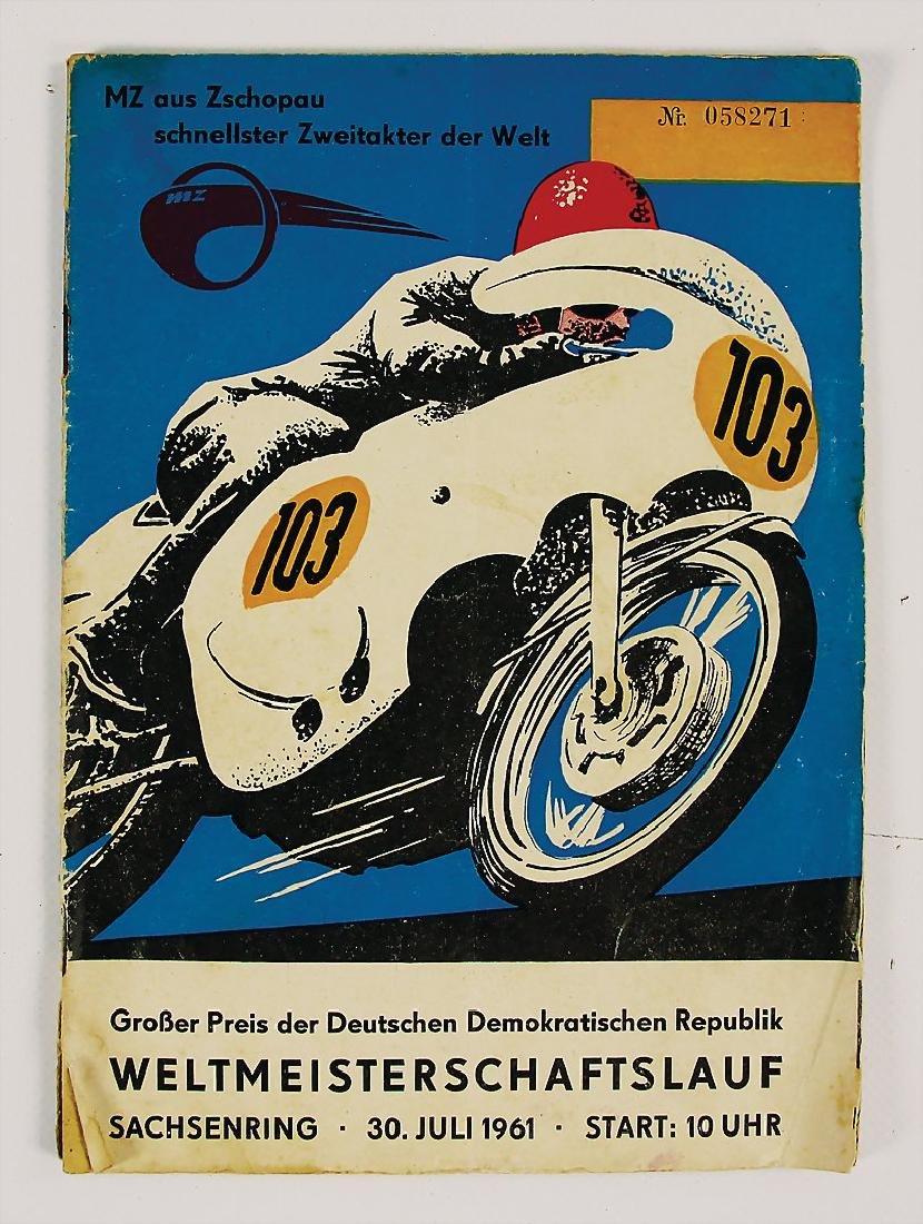 racing programme Grand Prix of the German Democratic