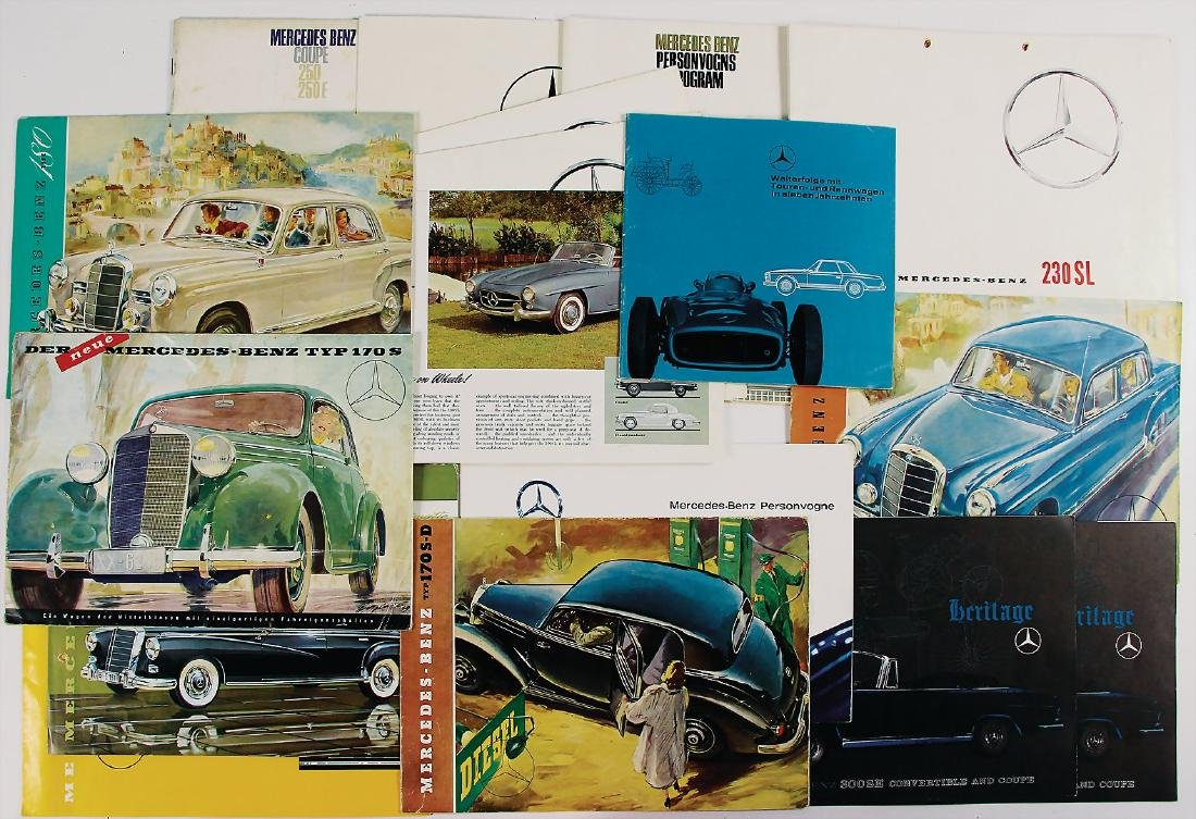 MERCEDES-BENZ mixed lot with 21 pieces, consists of