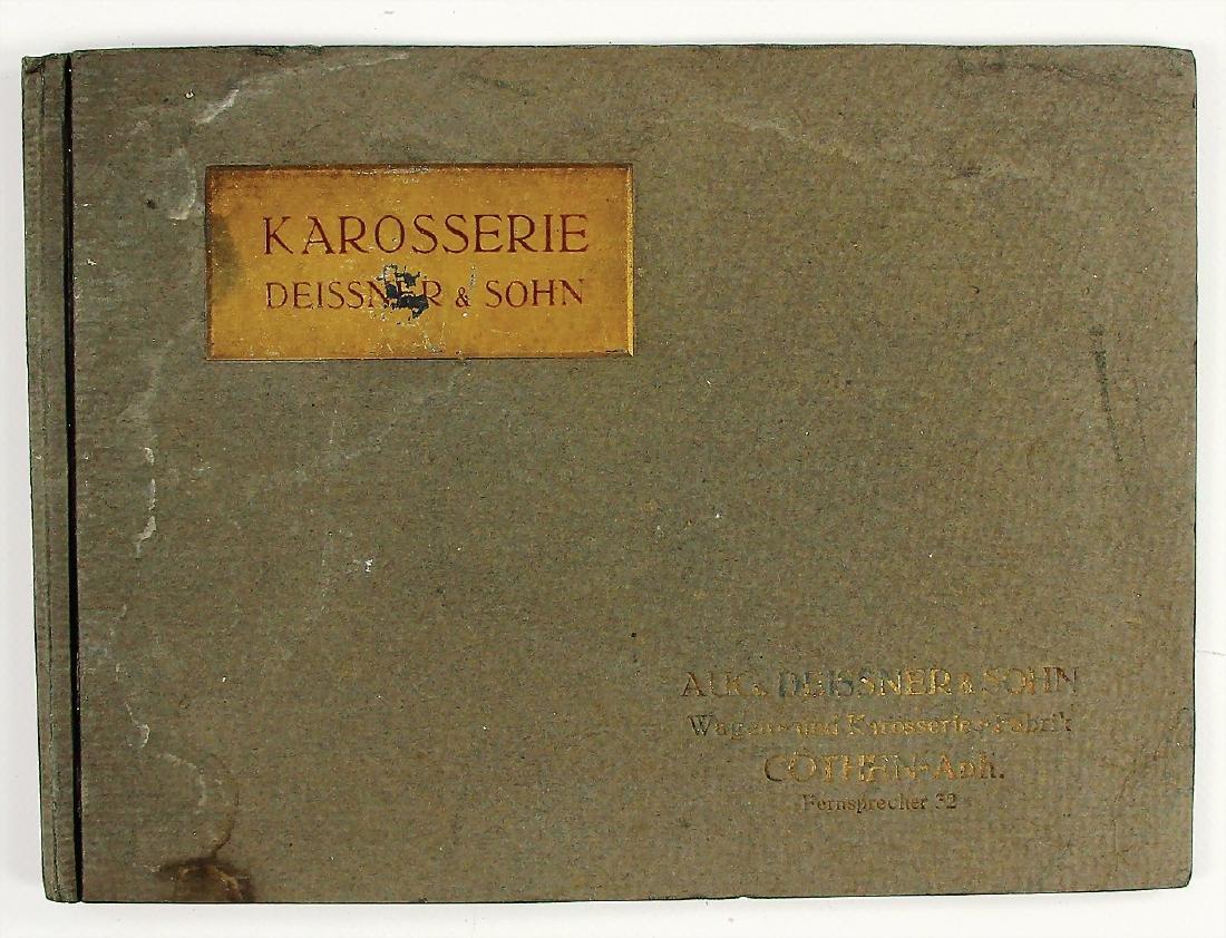 KAROSSERIE DEISSNER & SOHN Germany c. 1910, sales