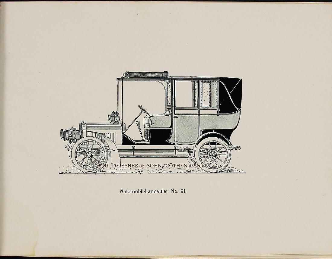 KAROSSERIE DEISSNER & SOHN Germany c. 1910, sales - 2
