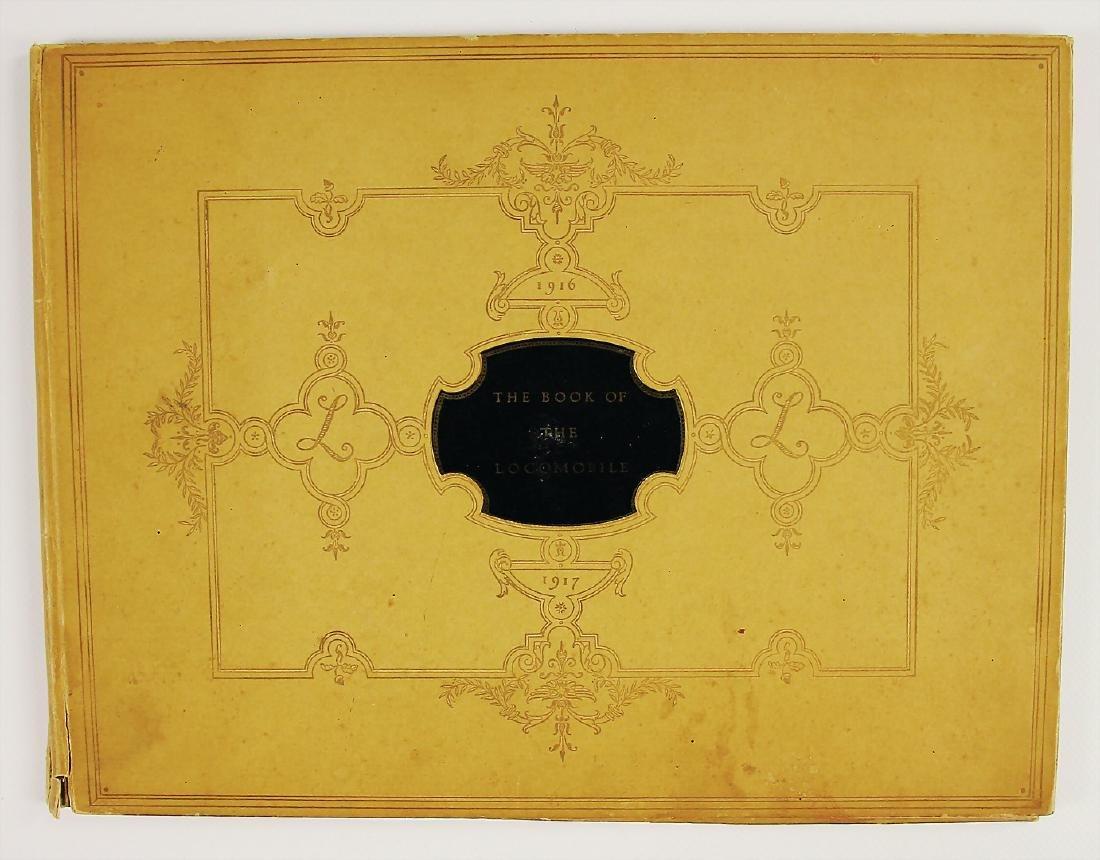 "LOCOMOBILE ""The Book of the Locomobile"", illustrated"