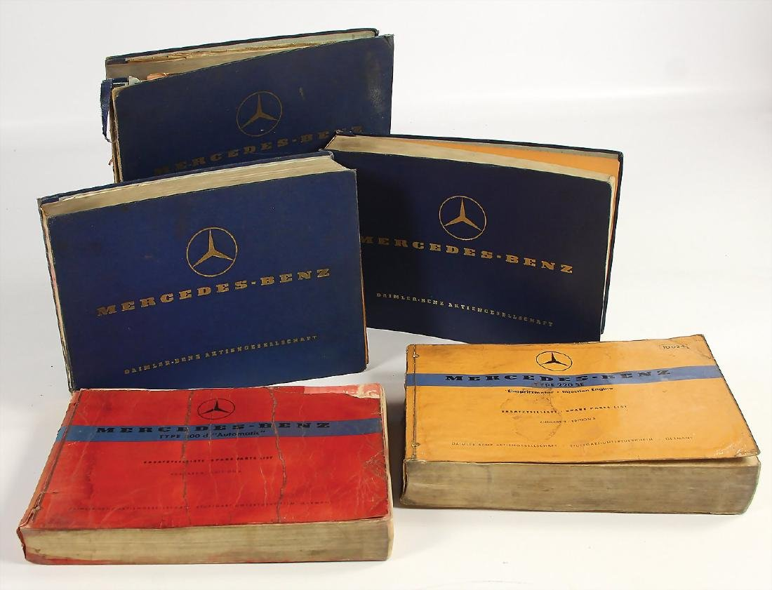MERCEDES-BENZ mixed lot with 5 pieces, replacement
