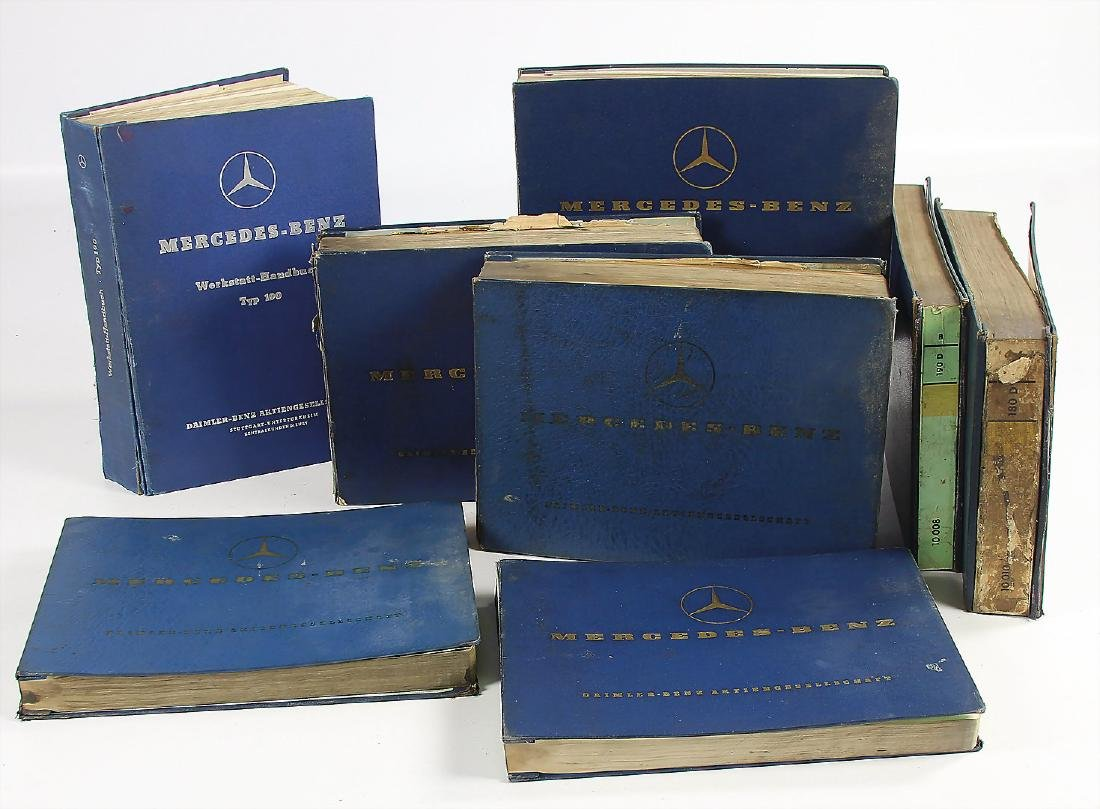 MERCEDES-BENZ mixed lot with 8 pieces, among it 1x