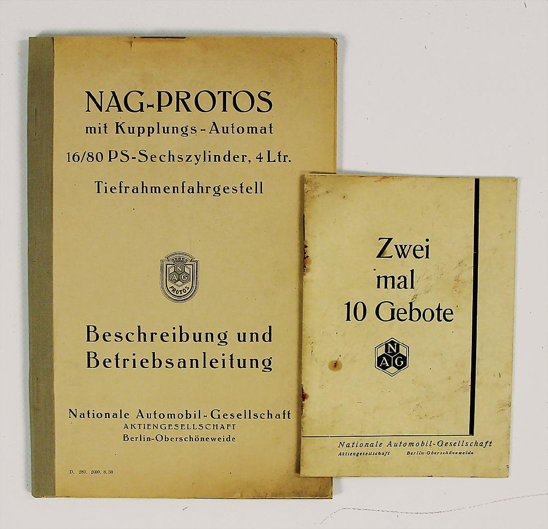 NAG mixed lot with 2 pieces, among it description and