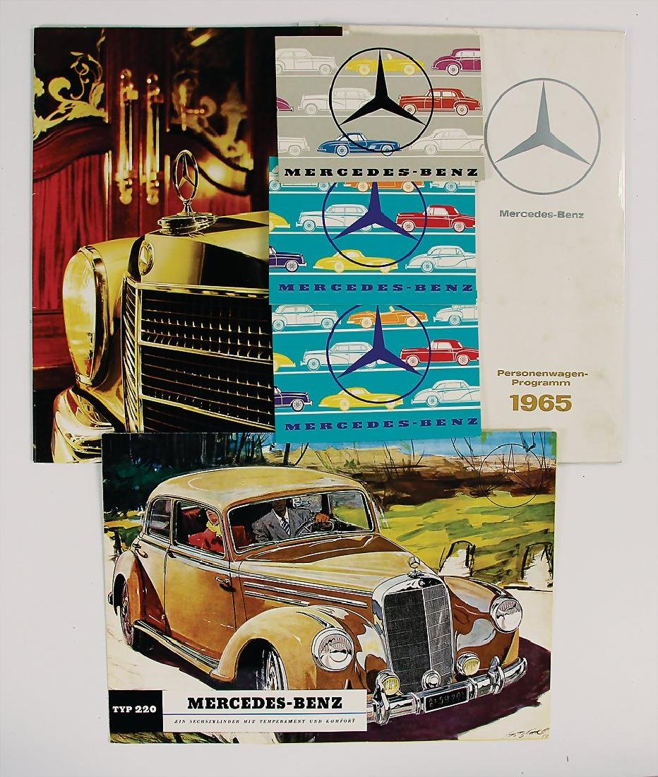 MERCEDES-BENZ mixed lot with 6 pieces, among it e.g.
