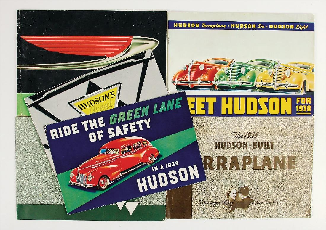 HUDSON mixed lot with 6 pieces, sales