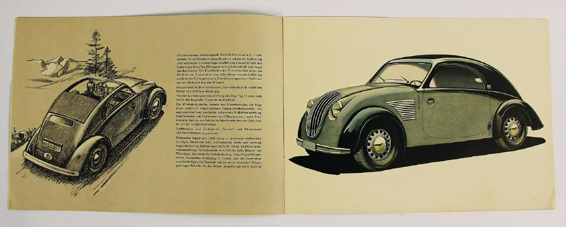 STEYR sales catalog Steyr type 55, late '30s, in - 2