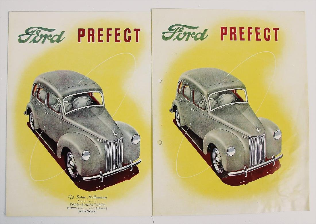 FORD mixed lot with 2 pieces, sales brochures (2x