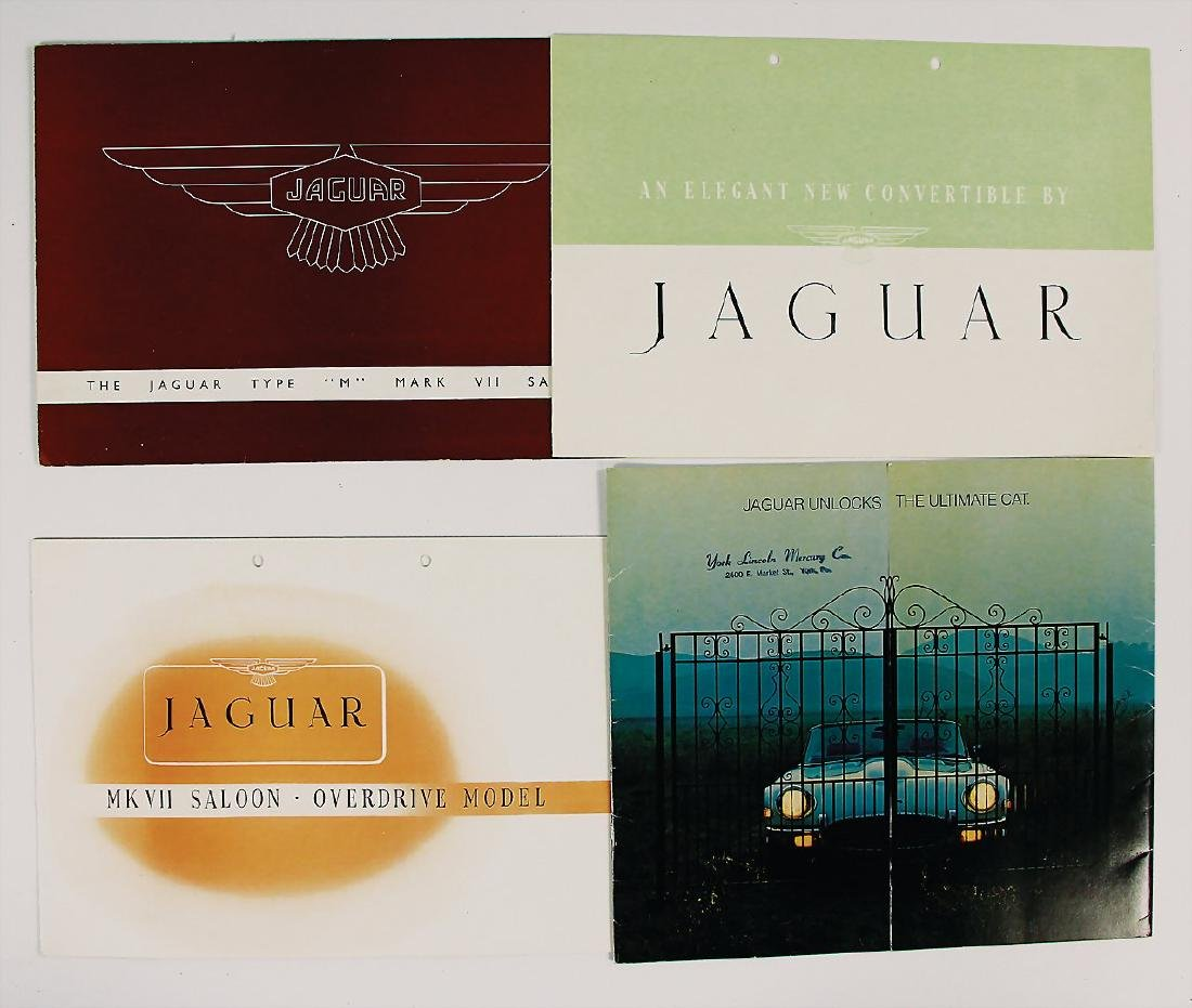JAGUAR mixed lot with 4 pieces, among it sales