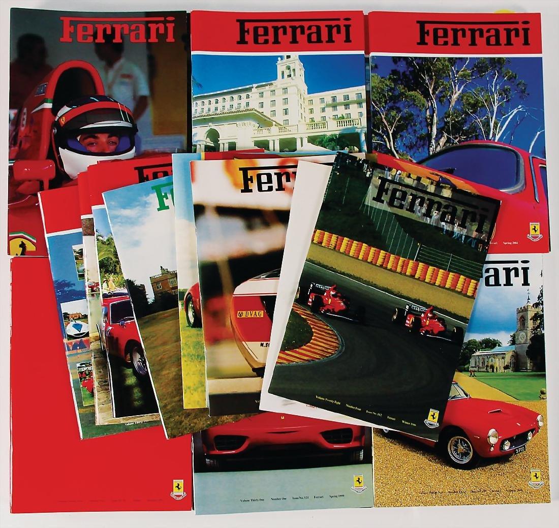"FERRARI mixed lot of 56 issues magazine ""Ferrari Owners"