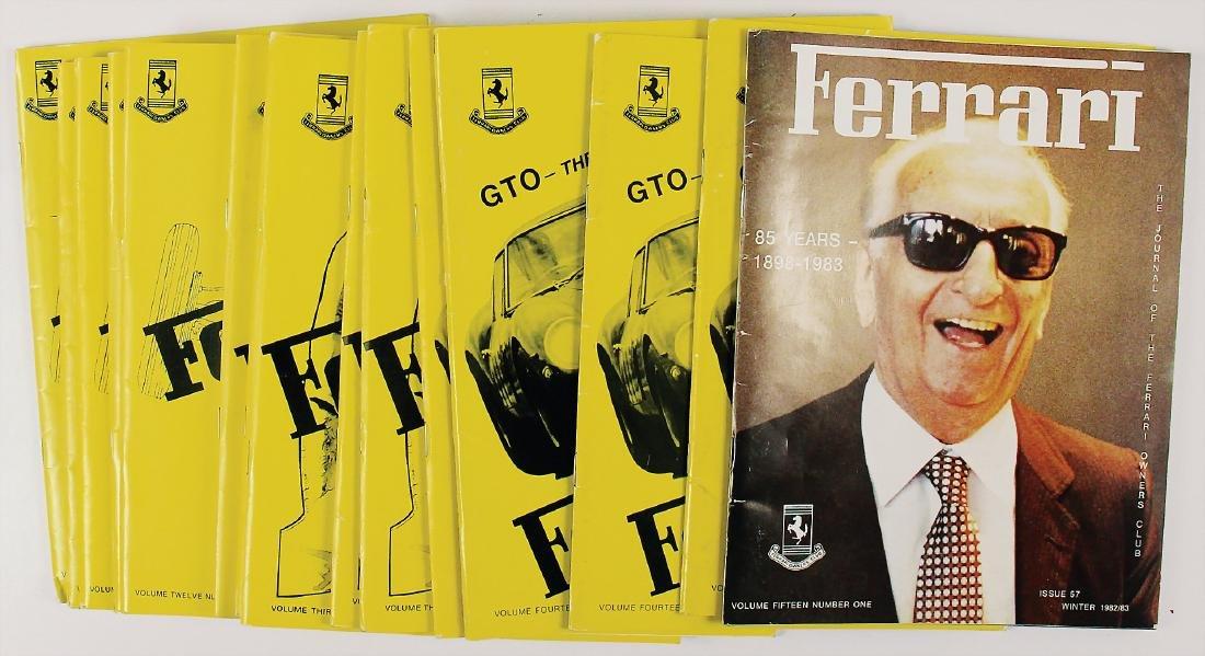 "FERRARI mixed lot of 15 issues magazine ""Ferrari Owners"