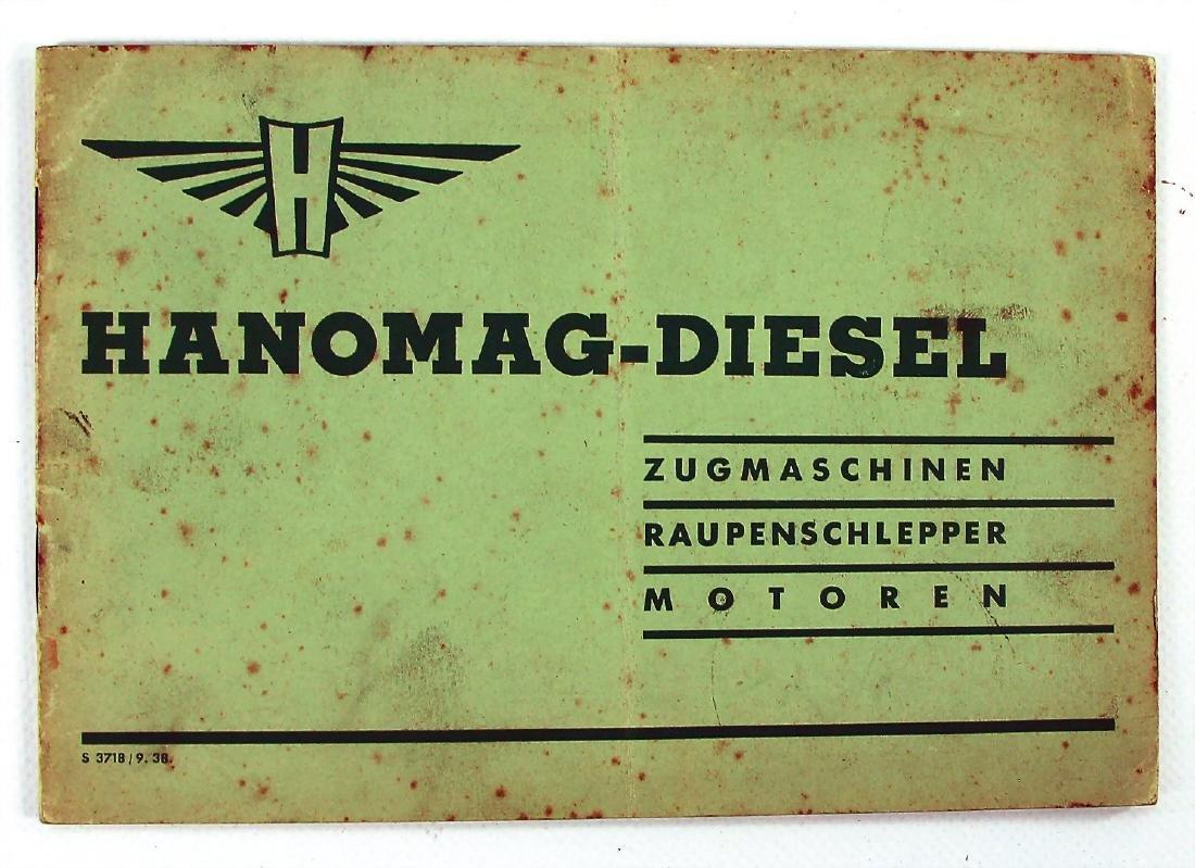 HANOMAG price list for Hanomag-Diesel