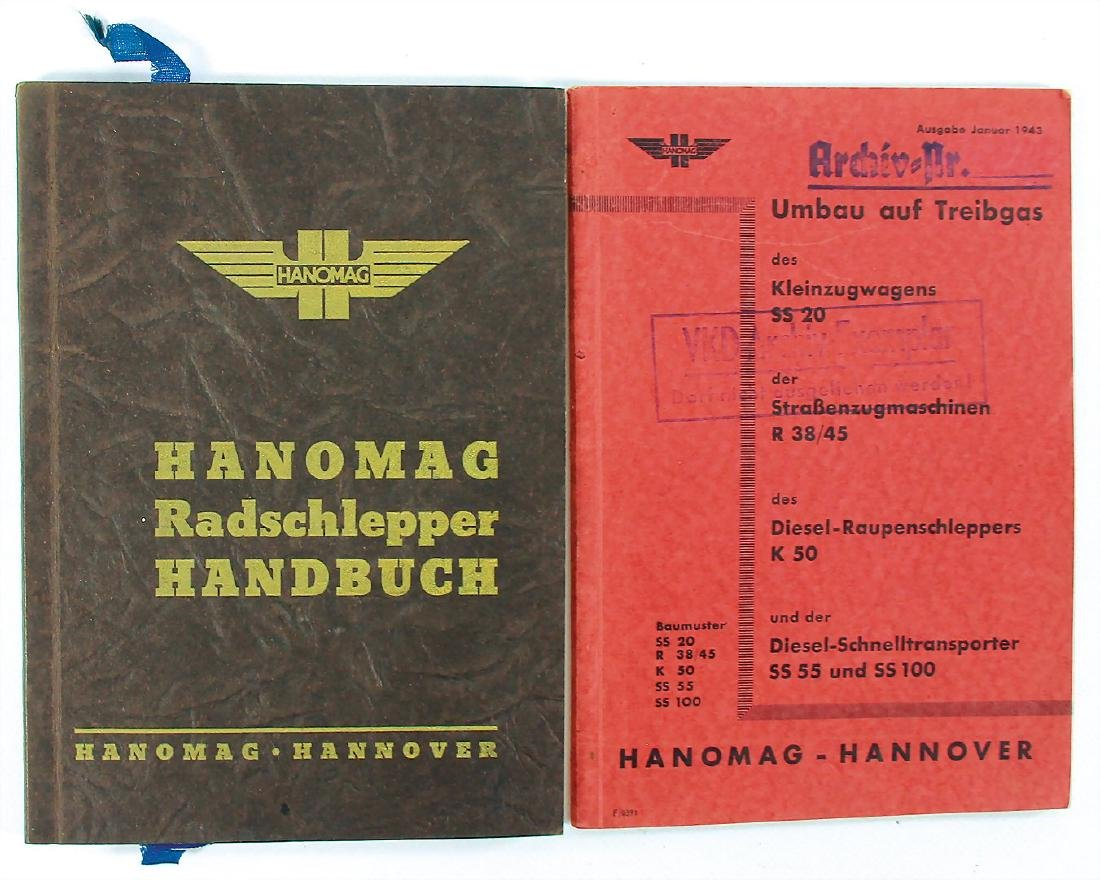 HANOMAG mixed lot with 2 pieces, No. 1: manual for
