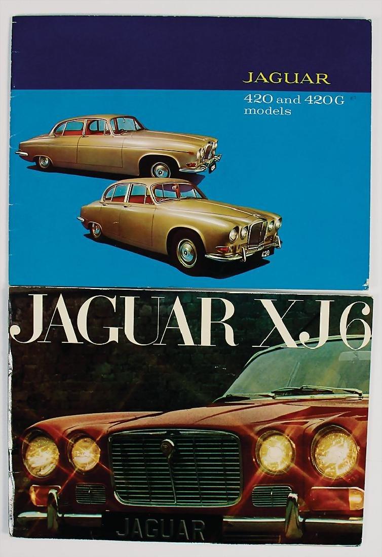 JAGUAR mixed lot with 2 pieces, sales catalogs, No. 1: