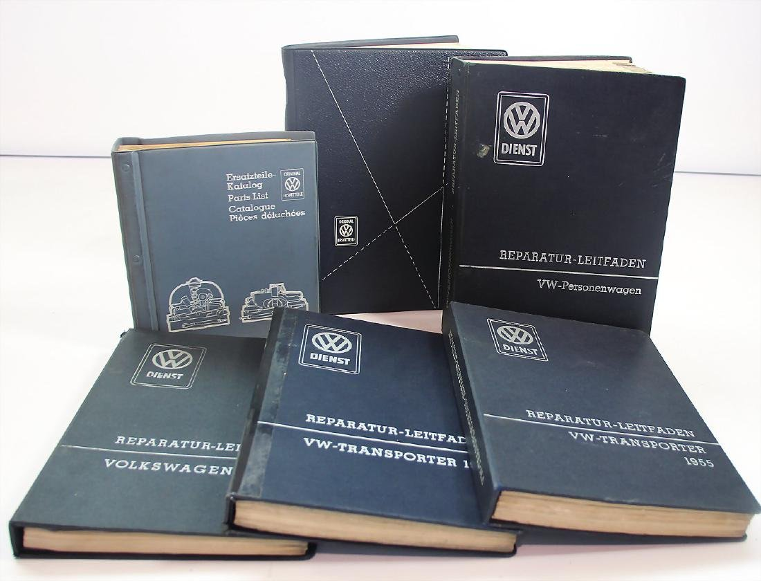 VOLKSWAGEN mixed lot with 6 pieces, guides for repair