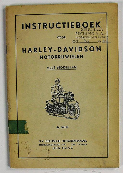HARLEY DAVIDSON book: \