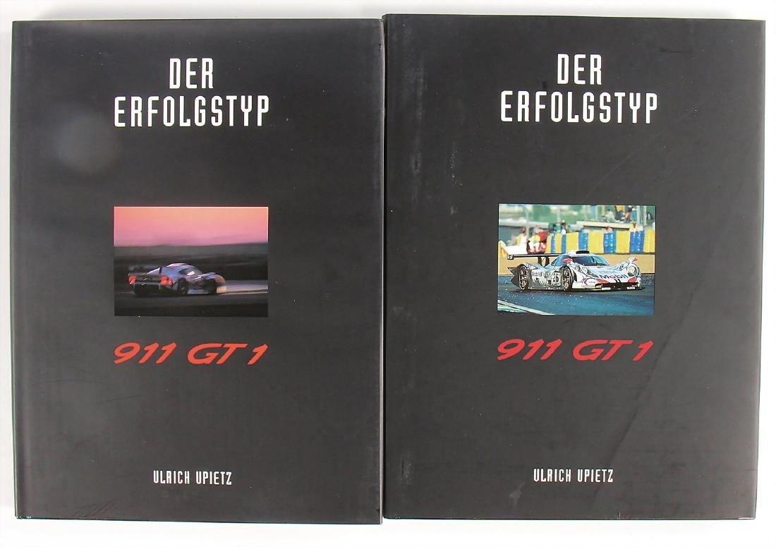 PORSCHE mixed lot of 2 books about the Porsche 911 GT