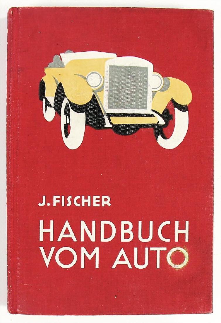 Handbuch vom Auto by the author J. Fischer, Berlin