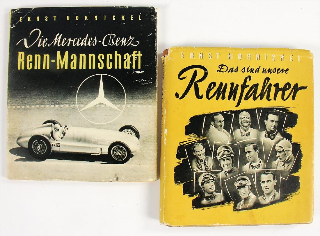 """MERCEDES-BENZ mixed lot with 2 pieces, books """"Die"""