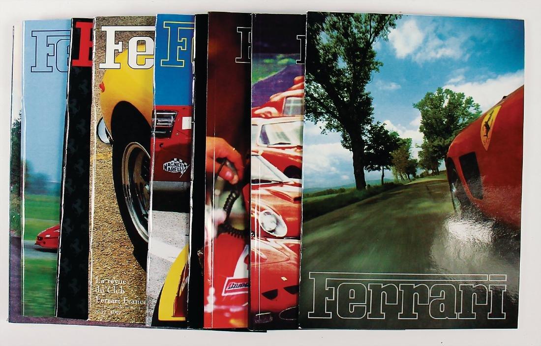 "FERRARI mixed lot of 10 issues of the magazine ""Ferrari"