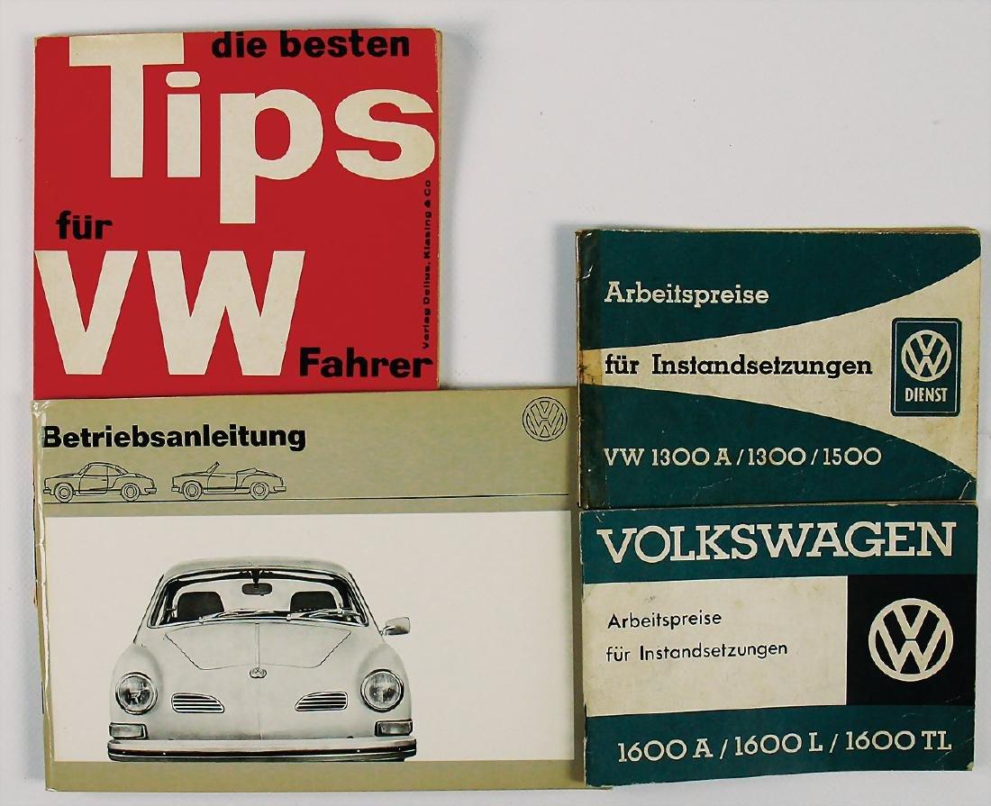 VOLKSWAGEN mixed lot with 4 pieces, Volkswagen working
