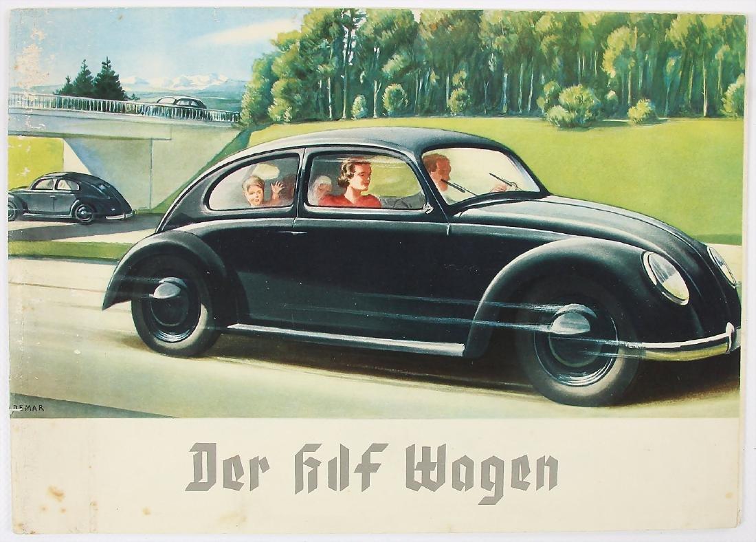 """VOLKSWAGEN/KDF sales brochure/sales catalog """"Der"""