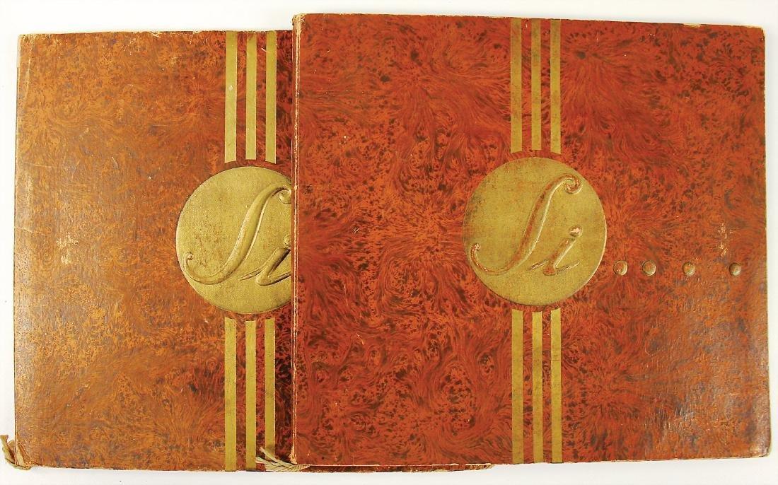 PANHARD & LEVASSOR 1913, mixed lot of 2 sales catalogs