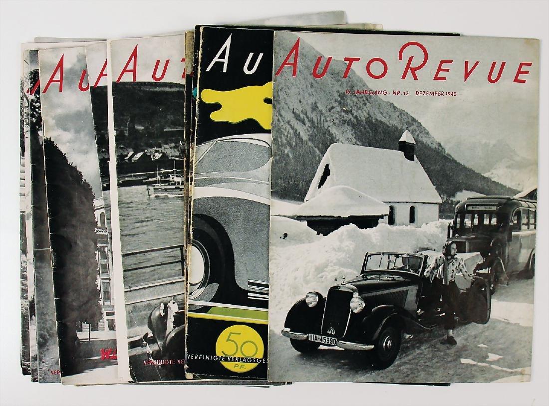 """magazine """"Auto Revue"""", the issues September, November"""