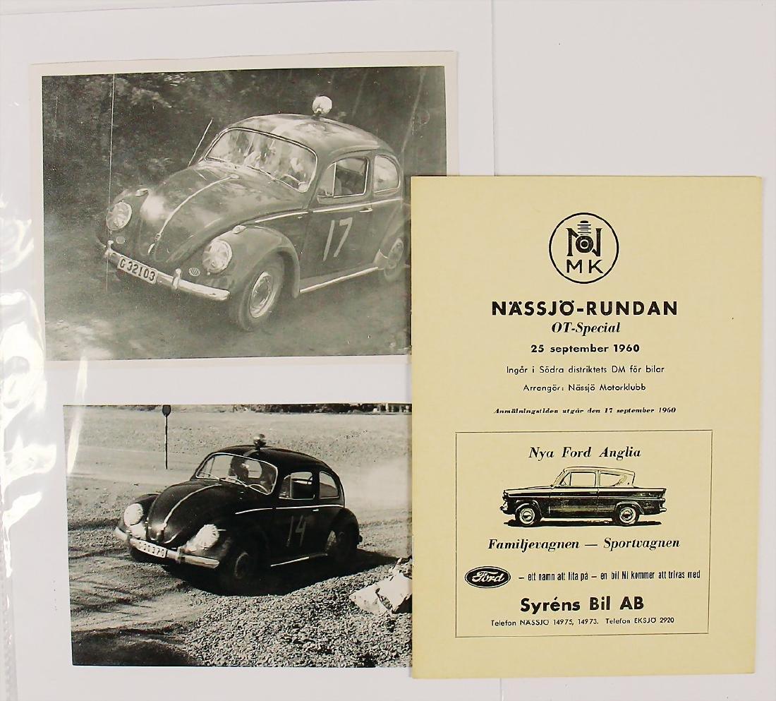 racing programme Nässjörundan from 1960 and 3