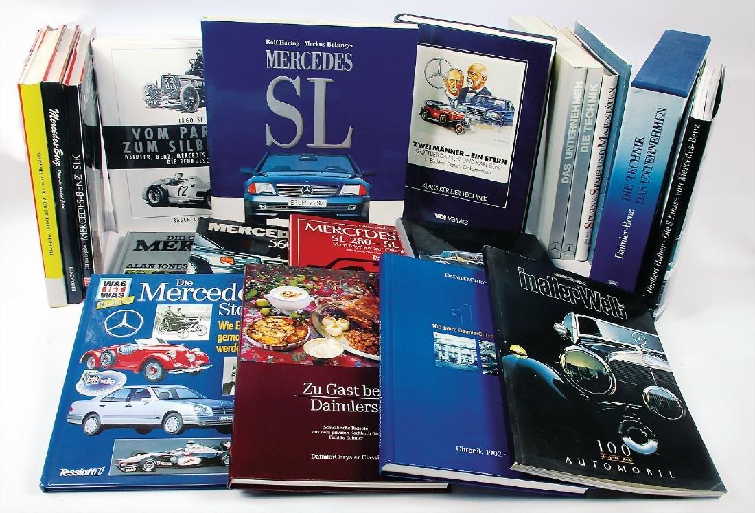 MERCEDES-BENZ mixed lot of books Mercedes-Benz 20