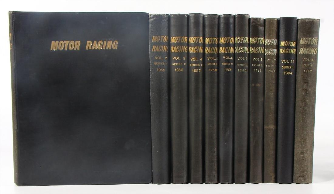 ENGINE RACING mixed lot 11 volumes magazine Motor