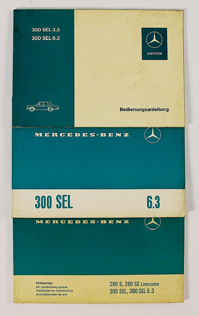 MERCEDES-BENZ mixed lot with 3 pieces, among it