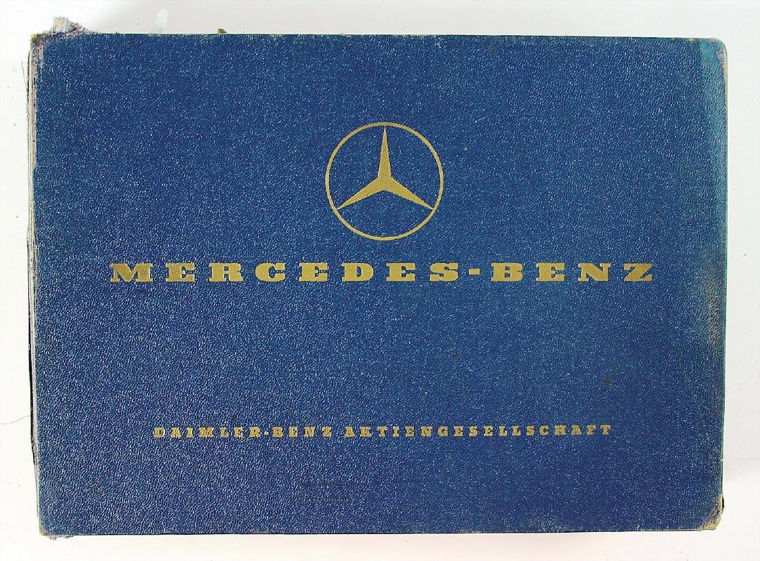 MERCEDES-BENZ replacement parts list type 190 SL,