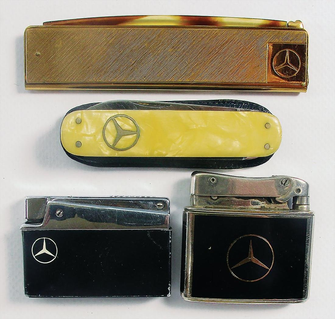 MERCEDES-BENZ mixed lot with 4 pieces, consists of a