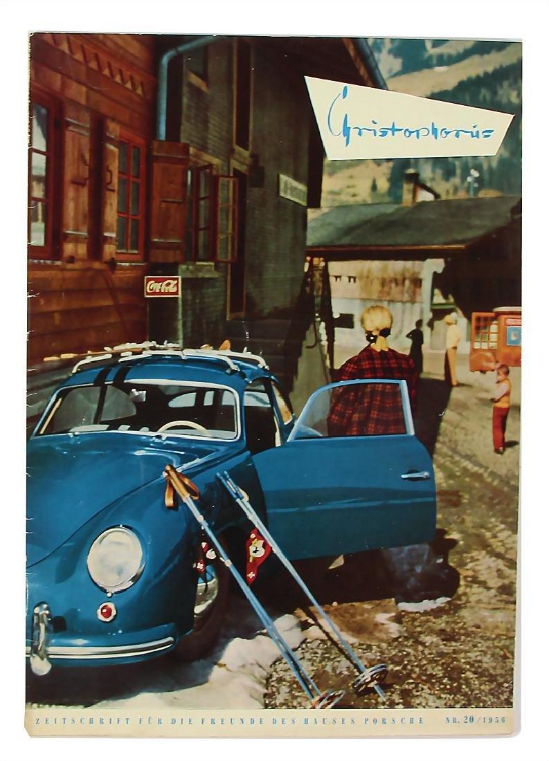 "PORSCHE/CHRISTOPHORUS magazine ""Christophorus"", issue"
