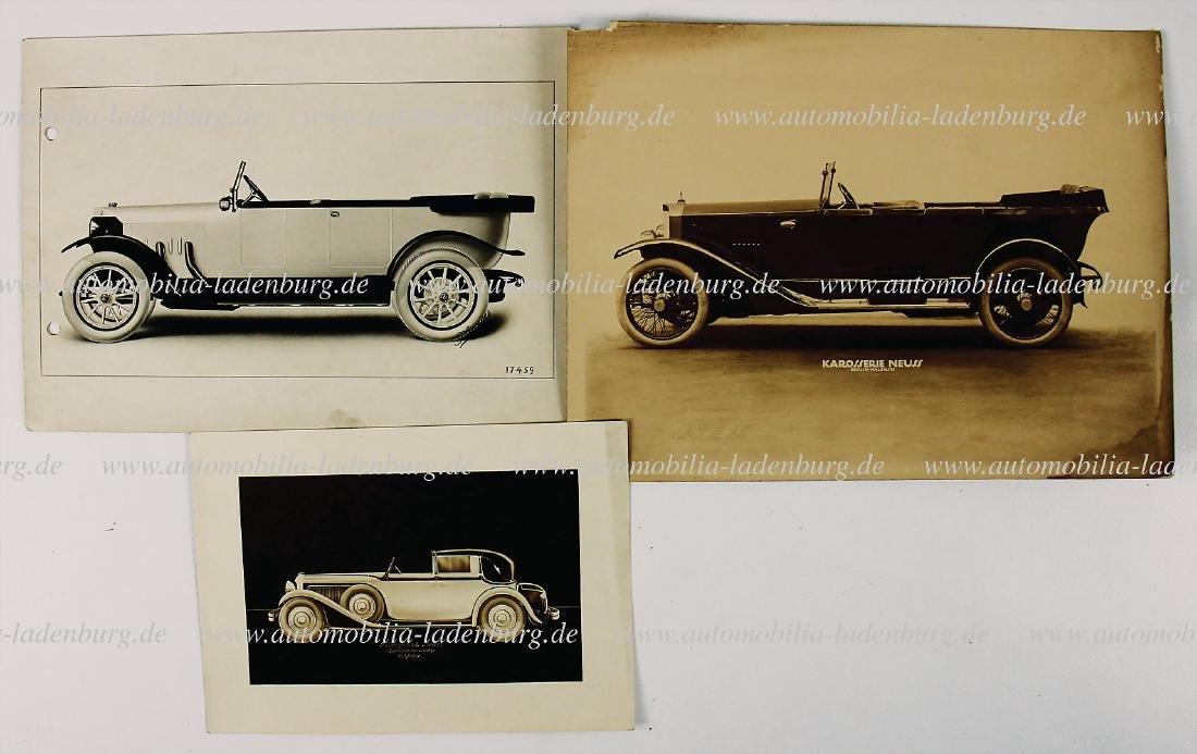 mixed lot of 3 pieces, No. 1: Daimler