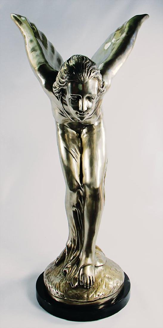 ROLLS-ROYCE/JACK BARCLAY original showroom statue