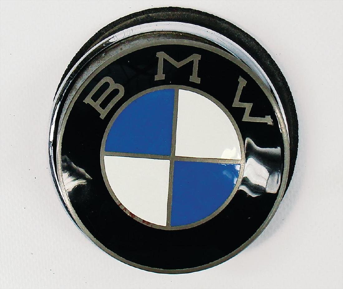 BMW suitcase emblem for BMW 507, with a diameter of